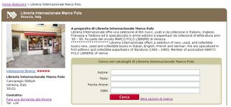 Homepage libreria