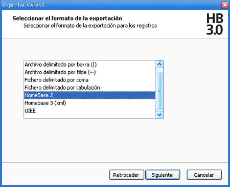 Exportar-HB2