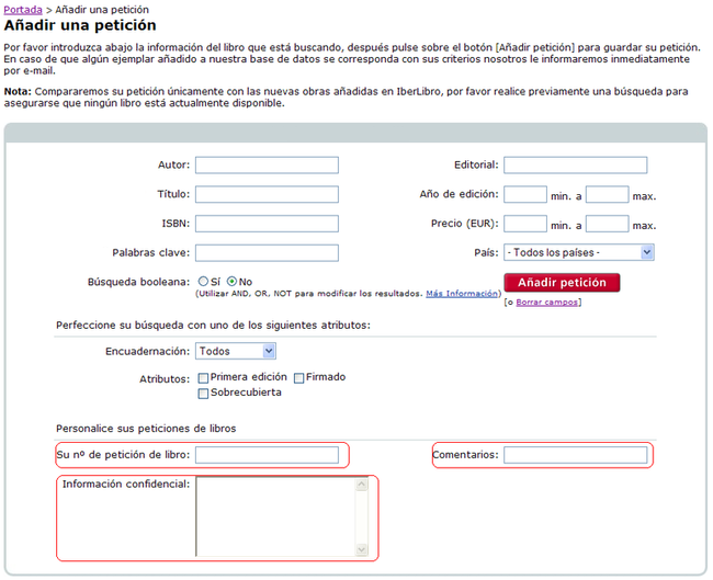 Peticiones