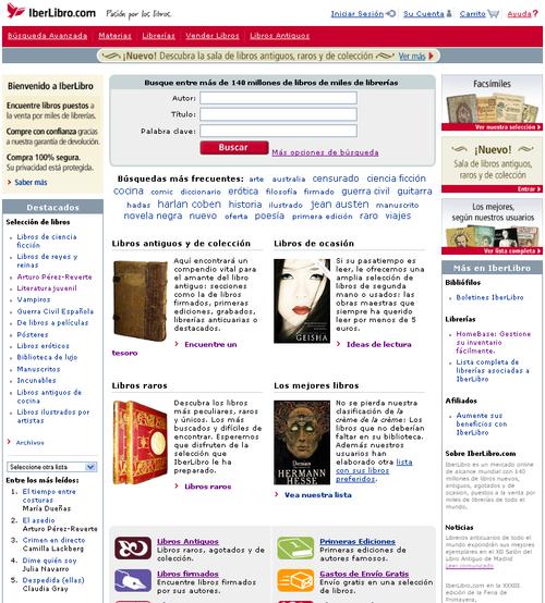 Homepage_iberlibro