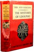 The Mysteries of Udolpho, by Ann Radcliffe