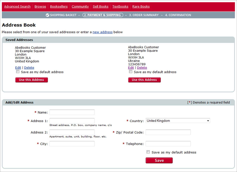 AbeBooks UK Buyer Help