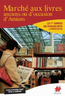 Marché aux livres anciens et d'occasion - Amiens