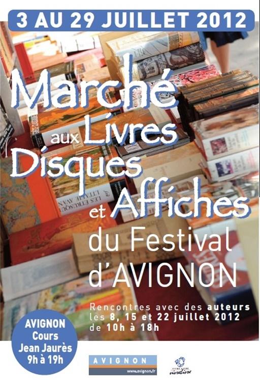 Affiche marché festival  2012