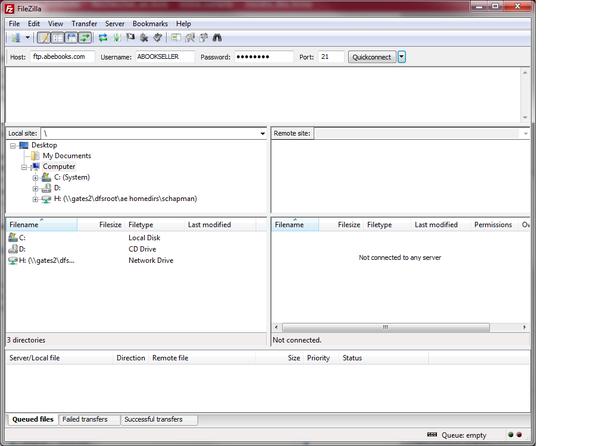 File Transfer Protocol - AbeBooks UK Seller Help