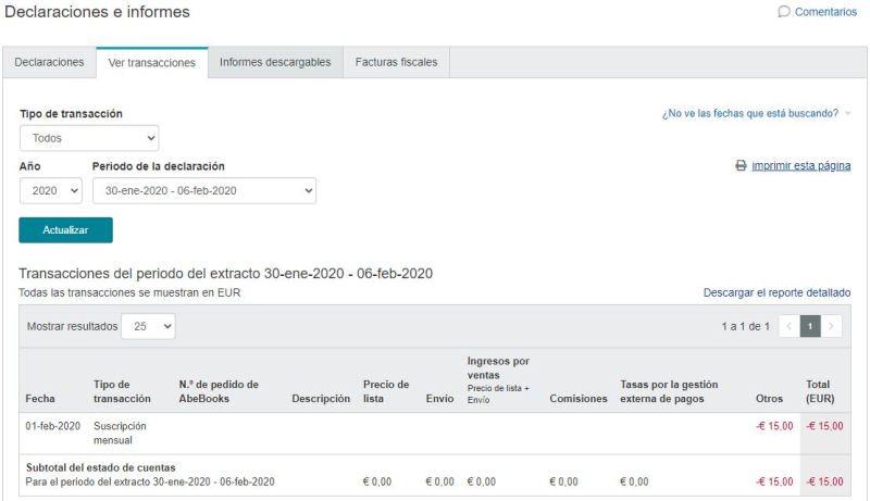 Transactions_ES screenshot